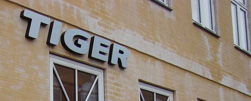 Tiger facade Ringsted
