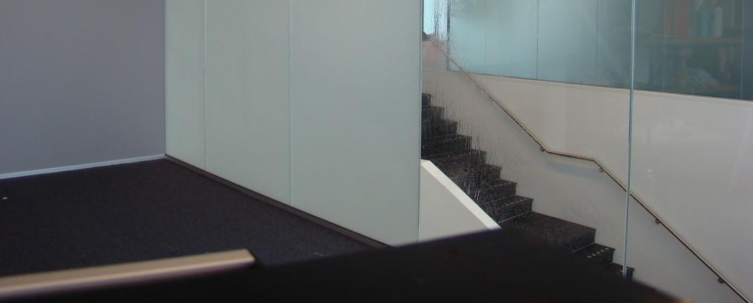 Matteret folie monteret på Roskilde Rådhus