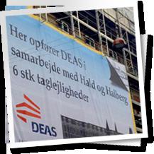 Deas 12x12meter banner